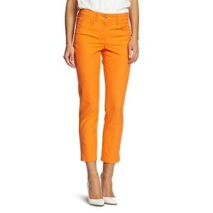 Basler   Cropped Tangerine Ankle Jeans